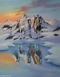 Jim Warren Fine Art Jim Warren Fine Art Alaskan Illusion