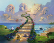Jim Warren Fine Art Jim Warren Fine Art All Pets Go To Heaven