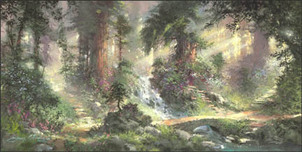 Artist James Coleman Artist James Coleman Alone in the Woods (15 x 30)