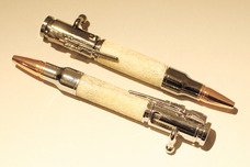 Allywood Creations Allywood Creations Bolt Action Rifle Pen - Deer Antler (Small)