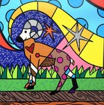 Romero Britto Art Romero Britto Art Aries (SN)