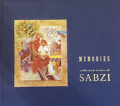 Fine Art Books Fine Art Books Memories: Collected Works of Sabzi (Hardcover Book)