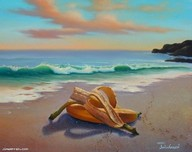 Jim Warren Fine Art Jim Warren Fine Art Bananas Embracing