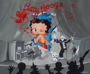 Jim Warren Fine Art Jim Warren Fine Art Betty Boop's Grand Entrance