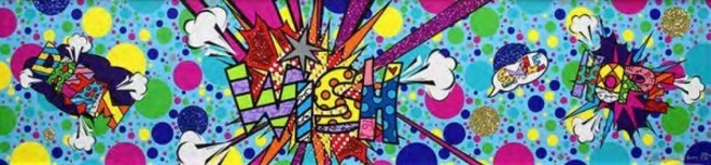 Romero Britto Art Romero Britto Art Big Bang - Wish (SN)
