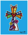 Romero Britto Art Romero Britto Art Blessings (Colorful)