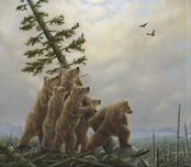 Robert Bissell Art Robert Bissell Art Blowdown! (Collector Edition)