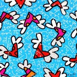 Romero Britto Art Romero Britto Art Blue Sky (SN)