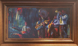 Michael Flohr Art Michael Flohr Art Blue Note (Framed)