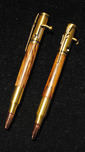 Allywood Creations Allywood Creations Bolt Action Rifle Pen - Antique Brass & Wood