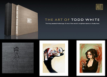Todd White Todd White The Art Of Todd White LTD Deluxe Book