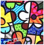 Romero Britto Art Romero Britto Art Botanical Flowers