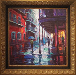 Michael Flohr Art Michael Flohr Art Bourbon Street (Framed)