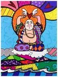 Romero Britto Art Romero Britto Art Buddha