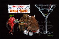 Godard Martini Art Godard Martini Art The Bull and The Bear (AP)