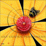 Michael Godard Art & Prints Michael Godard Art & Prints Bumblebee, Yellow Flower