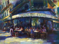 Michael Flohr Art Michael Flohr Art Cafe de Flore