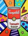 Romero Britto Art Romero Britto Art Campbell's Soup (SN)
