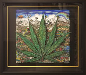 Charles Fazzino Art Charles Fazzino Art Cannabis on My Mind