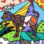 Romero Britto Art Romero Britto Art Capricorn (SN)