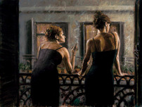 Fabian Perez Fabian Perez Cenisientas of the Night