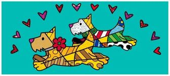 Romero Britto Art Romero Britto Art Central Park (Gallery Wrapped)