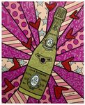 Romero Britto Art Romero Britto Art Champagne Wishes & Caviar Dreams (Pink)