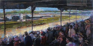 Michael Flohr Art Michael Flohr Art Churchill Downs