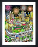 Charles Fazzino Art Charles Fazzino Art 2019 MLB All-Star Game: Cleveland (DX)