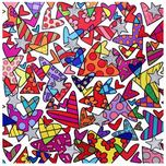 Romero Britto Art Romero Britto Art Cloud Nine