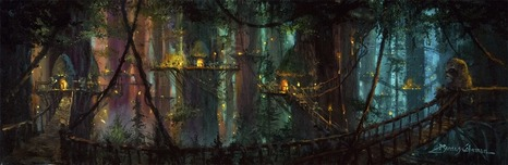 James Coleman Prints James Coleman Prints Ewok Village