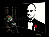 Michael Godard Art & Prints Michael Godard Art & Prints Corleone-Tini (AP)