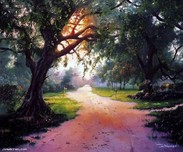 Jim Warren Fine Art Jim Warren Fine Art Country Lane