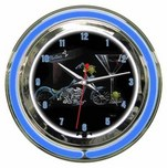 Michael Godard Michael Godard Custom Martini- Neon Clock (Small)
