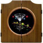 Michael Godard Art & Prints Michael Godard Art & Prints Dart Cabinet - Dirty Martini