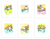 Tom Everhart prints Tom Everhart prints Dogg E Paddle SUITE