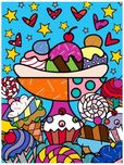 Romero Britto Art Romero Britto Art Dylan's Candy Bar