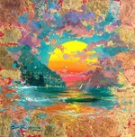 Artist James Coleman Artist James Coleman Emerald Sunset