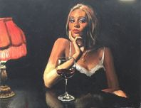 Fabian Perez Fabian Perez English Rose III