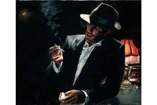 Fabian Perez Fabian Perez Enjoying the Pleasures of the Night III