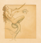Michael Parkes Art Michael Parkes Art Mermaid