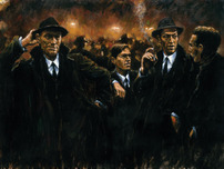 Fabian Perez Fabian Perez Friends At Las Brujas