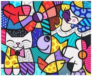 Romero Britto Art Romero Britto Art Fanfair