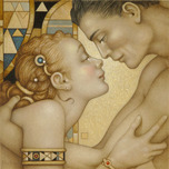 Michael Parkes Art Michael Parkes Art First Embrace