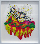 Tom Everhart Prints Tom Everhart Prints Flipped Out 56 (Framed)