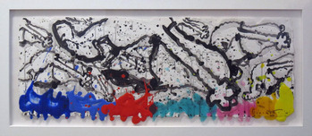 Tom Everhart prints Tom Everhart prints Flipped Out No. 92- original (Framed)