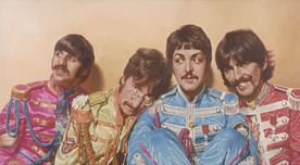 Kruger Fine Art Kruger Fine Art Four Saints (Beatles)