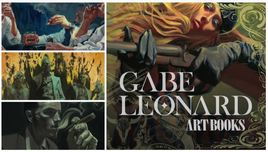 Gabe Leonard Gabe Leonard Art Book Collection - Set of 5