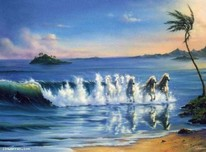 Jim Warren Fine Art Jim Warren Fine Art Galloping Waves