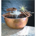 Nayer Kazemi - Water Art Nayer Kazemi - Water Art Gentle Flow Fountain # 1004